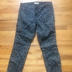 Tory Burch jeans blue or black and white pattern